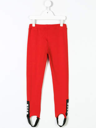 MSGM stirrup leggings