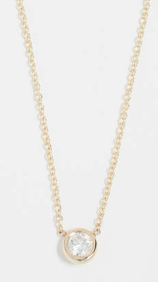 Chicco Zoe 14k Gold Necklace with 20PT White Diamond