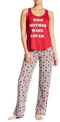 PJ Salvage Wine Glass Pajama Pants