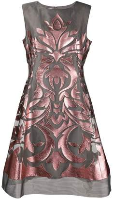 Alberta Ferretti laser cut dress
