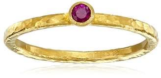 Gurhan Skittle Ruby and High-Karat Gold Stacking Ring
