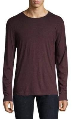 John Varvatos Stretch Melange Long-Sleeve T-Shirt