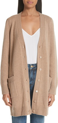 Co Essentials Wool & Cashmere Boyfriend Cardigan