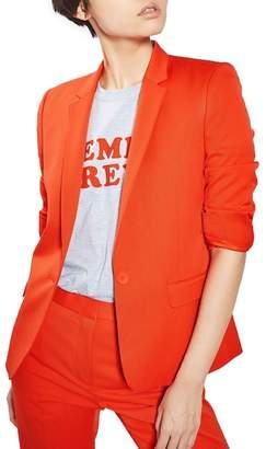 Topshop Tailored Suit Jacket