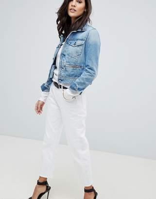 G Star G-Star 3301 Mid Rise Crop Boyfriend Jean