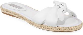 Tabitha Simmons Heli Slide Flat Sandals, White