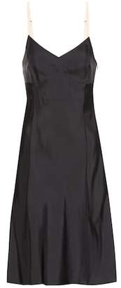 Helmut Lang Satin slip dress