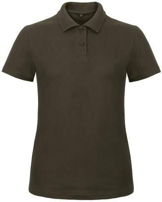 BC B&C Womens/Ladies ID.001 Plain Short Sleeve Polo Shirt (XL)