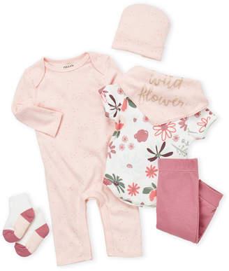 Chick Pea (Newborn Girls) 6-Piece Floral Gift Set