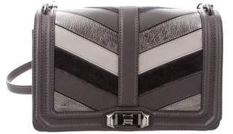 Rebecca Minkoff Patchwork Chevron Quilted Love Crossbody Bag