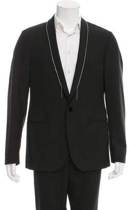Lanvin Embellished Wool Tuxedo Jacket w/ Tags