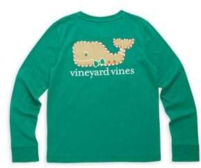 Vineyard Vines Toddler's, Little Girl's & Girl's Gingerbread Whale Graphic Tee