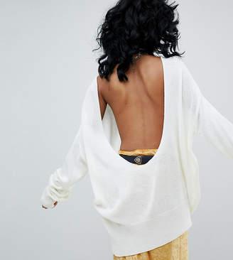 Rokoko Deep Scoop Back Sweater