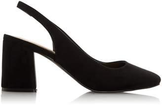Dorothy Perkins Womens *Head Over Heels By Dune Black 'Carella' Ladies Mid Heel Shoes