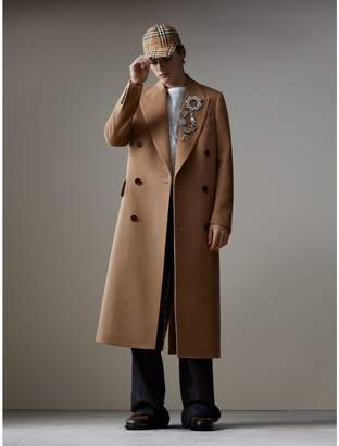 Burberry Camel Hair Wool Chesterfield