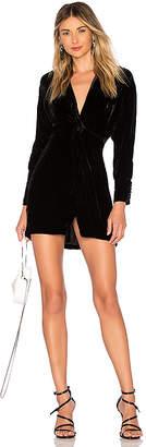Nicholas Silk Velvet Twist Front Dress