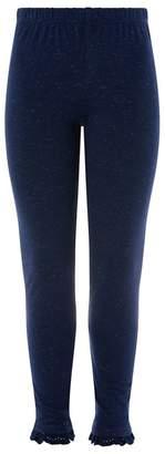 Monsoon Girls' Blue 'Tilly' Frill Legging