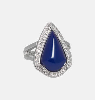 Avenue Blue Bead Stretch Ring