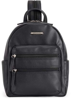 Co Stone & Pebbled Leather Backpack