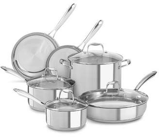 KitchenAid 6 Piece Stainless Steel Cookware Set