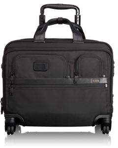 Tumi Alpha 2 4-Wheel Deluxe Brief with Laptop Case