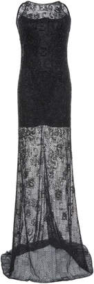 Versace Sheer Lace Gown