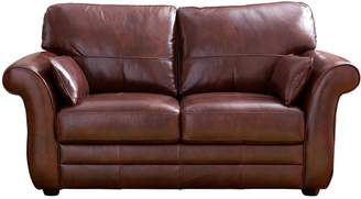 Very Vantage Italian Leather 2 Seater Sofa