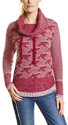 Cecil Women's 300421 Jumper, (Cranberry red 31088), XX-Large