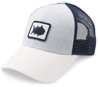 Southern Tide Women's Seersucker Patch Trucker Hat