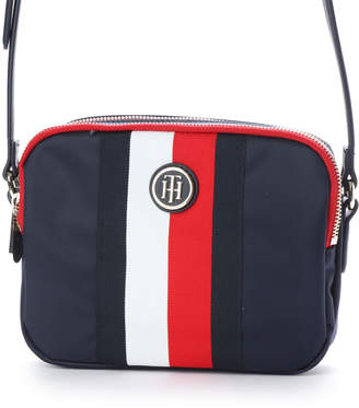 Tommy Hilfiger (トミー ヒルフィガー) - トミーヒルフィガー TOMMY HILFIGER ストライプショルダーバッグ