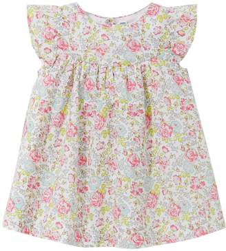 Jacadi Mousse Floral Cotton Dress