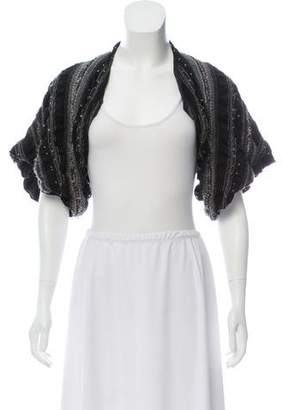 Elizabeth and James Open Front Cropped Cardigan