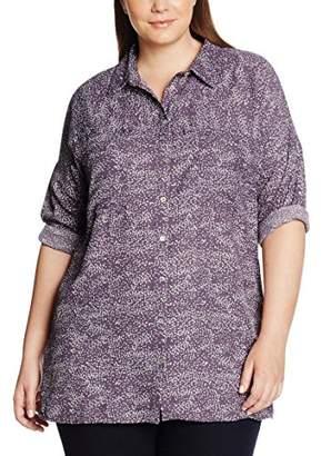 Zizzi Women's O10562A Blouse,(Manufacturer Size: Medium)