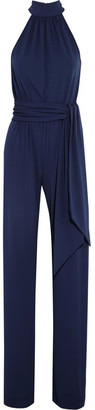 Michael Kors Collection - Stretch-crepe Jumpsuit - Navy $1,795 thestylecure.com