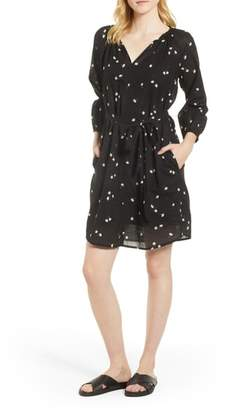 Velvet by Graham & Spencer Printed Cotton Gauze Dress