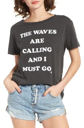 Women's Billabong Must Go Graphic Tee $29.95 thestylecure.com