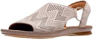 Clarks Sarla Cadence Flat Sandal - Grey