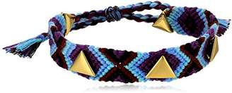 Rebecca Minkoff Triangle Stud Friendship Bracelet