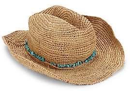 Melissa Odabash Women's Elle Cowboy Hat