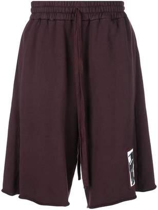 Komakino elasticated waist shorts