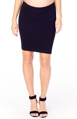 Women's Ingrid & Isabel Textured Knit Maternity Skirt $58 thestylecure.com