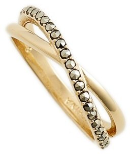 Women's Judith Jack Crisscross Ring $75 thestylecure.com