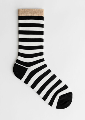 And other stories Striped Ankle Socks