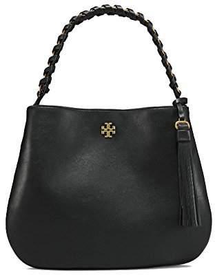Tory Burch Brooke Leather Hobo Shoulder Bag