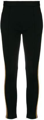 Miu Miu side stripe leggings