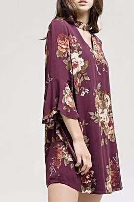 Blu Pepper Floral Sia Dress