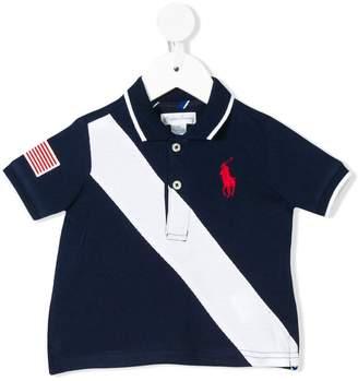 Ralph Lauren Kids stripe polo shirt