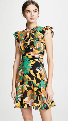 No.21 No. 21 Tropical Mini Dress