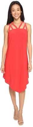 Christin Michaels - Lamorack Cross Strap Dress Women's Dress $69 thestylecure.com