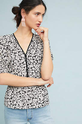 Anthropologie Tracy Reese x Retro Floral Blouse